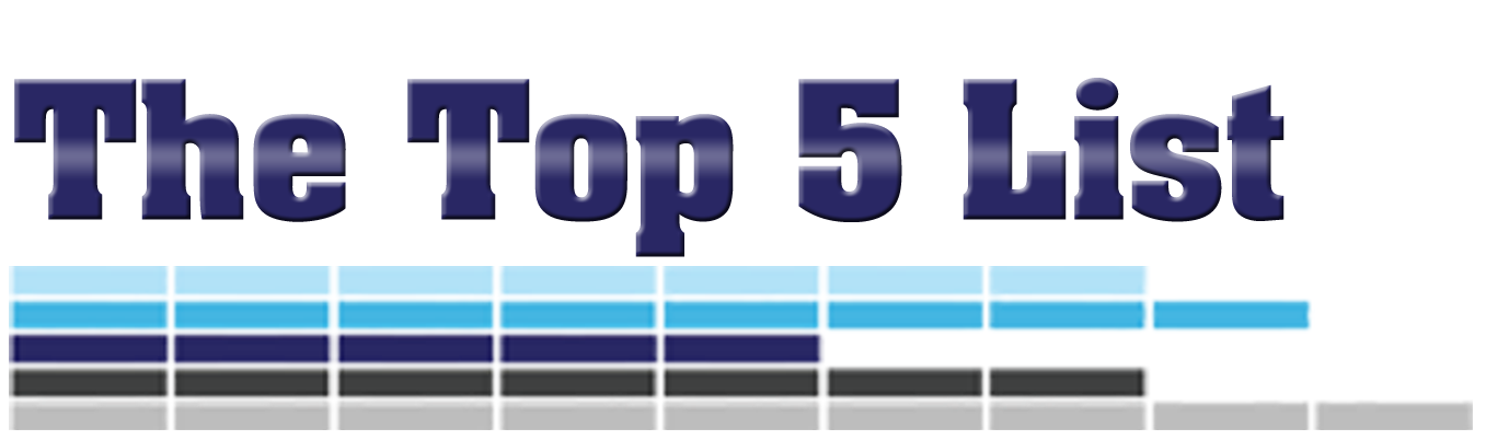 MMEink: The Top 5 List