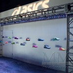 Asics shoe custom staging display