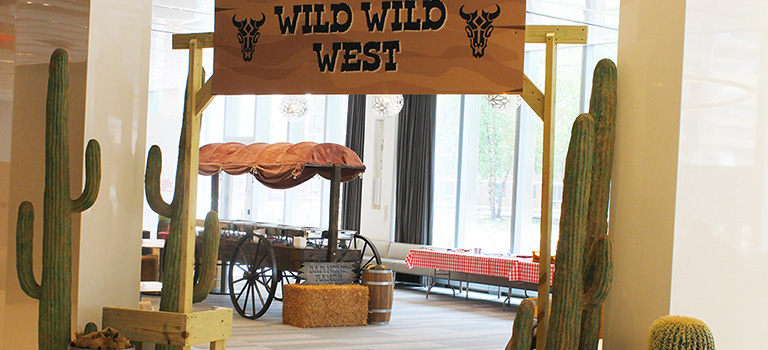 Corporate Wild Wild West Themed Event