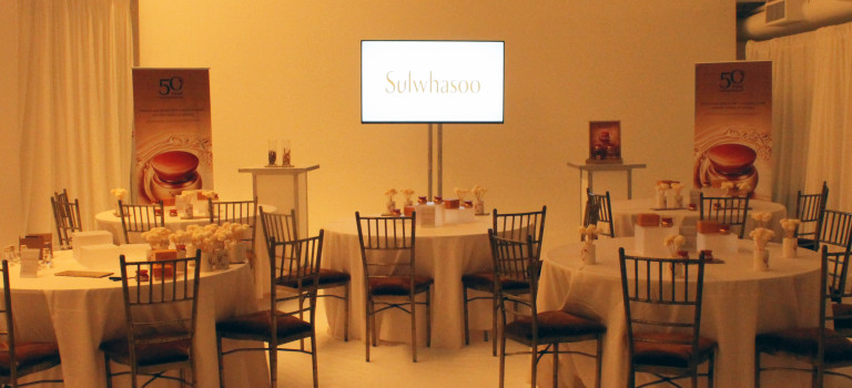 Sulwhasoo's 50 Years of Ginseng Event