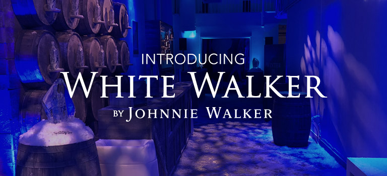 Punto Space Hosts Johnnie Walker's Release of Their Game of Thrones Inspired Whiskey, White Walker