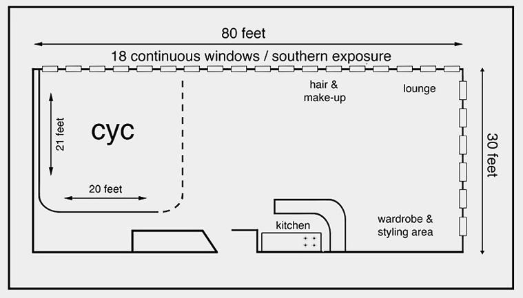 Go Studios Daylight floorplan