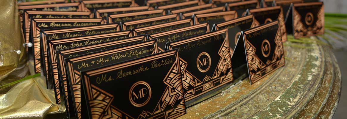 Professional designed invitations are part of our custom sweet 16 planning services