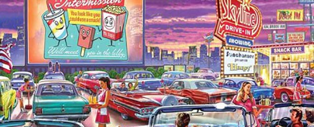 Jimmy's Vintage Pop-Up Drive-In