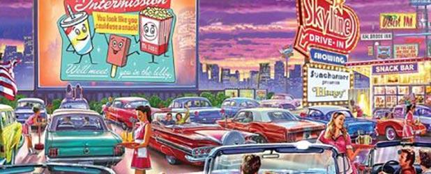Mel's Vintage Pop-Up Drive-In
