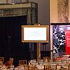 Shenkman event features custom visual screens alongside Audio Visual elements