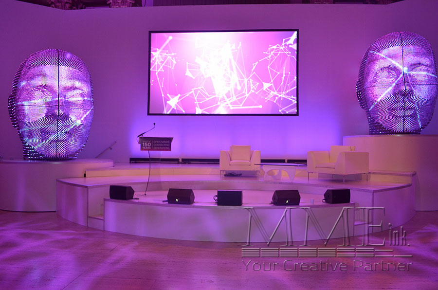 Ultra Modern Event Design Provides Artistic Approach To Major Corporate Miami