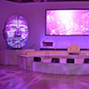 Ultra modern event design provides artistic approach to major corporate Miami event