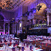 Event Design for Swiss Re anniversary event held in New York City