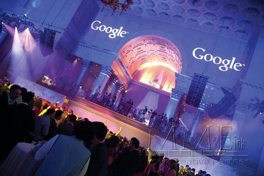 ... Lighting design for NYC corporate Google event held in NYC ... & Event Lighting Services | MMEink NYC azcodes.com