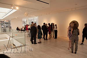 maxwell gallery interior event space