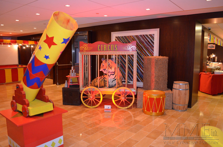 Carnival Themed Party Rental Decor Available