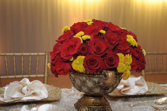 Floral Design at NYC event