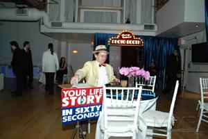 Sixty Second Novelist at Bar Mitzvah Party