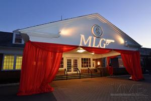 Custom Outdoor Event Lighting for Bar Mitzvah