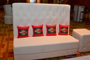 Bar Mitzvah custom ESPN branded pillows