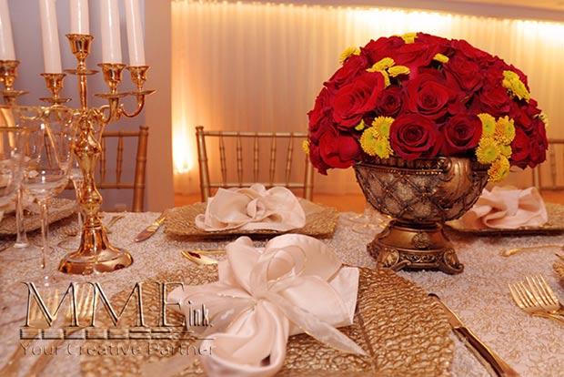 Floral Design for Wedding