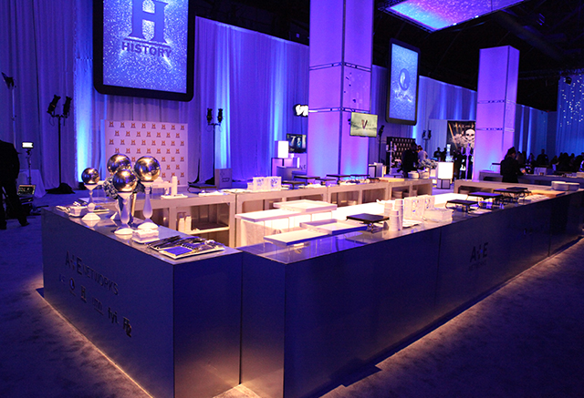 A&E upfront fall out boy bar rentals private corporate event