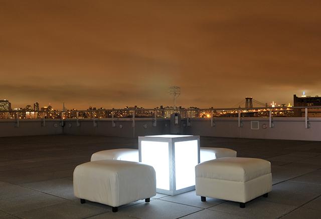 nyc skyline ottoman white lounge illuminated furniture