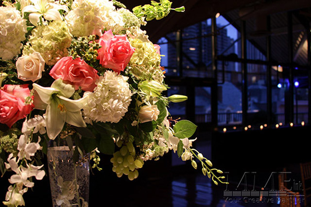 Sweet 16 expert floral design services