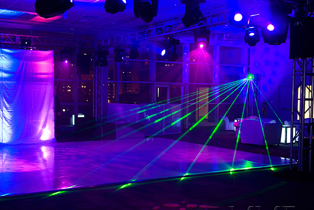 Sweet 16 Club Lighting design NYC