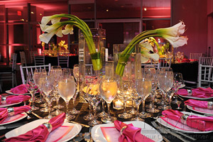 Sweet 16 event design for NYC parties