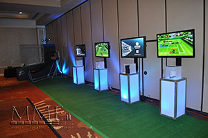 video game rentals at event