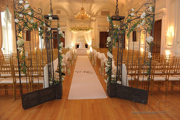 NYC Wedding Event Design at the Mandarin Hotel