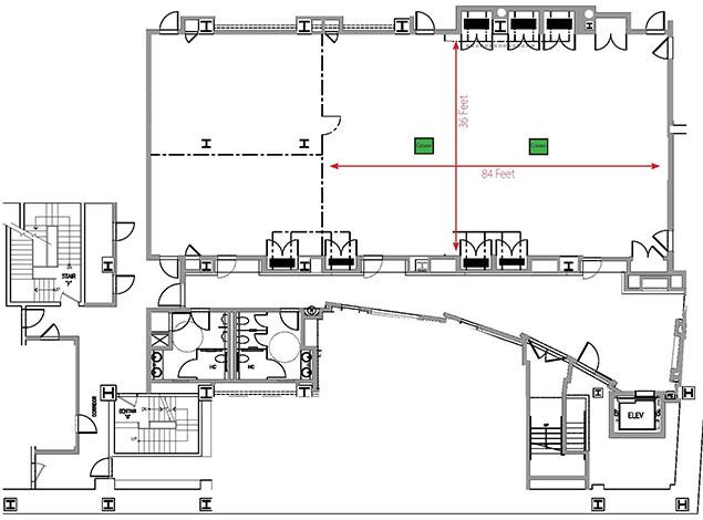 Concourse Level Floor Plan
