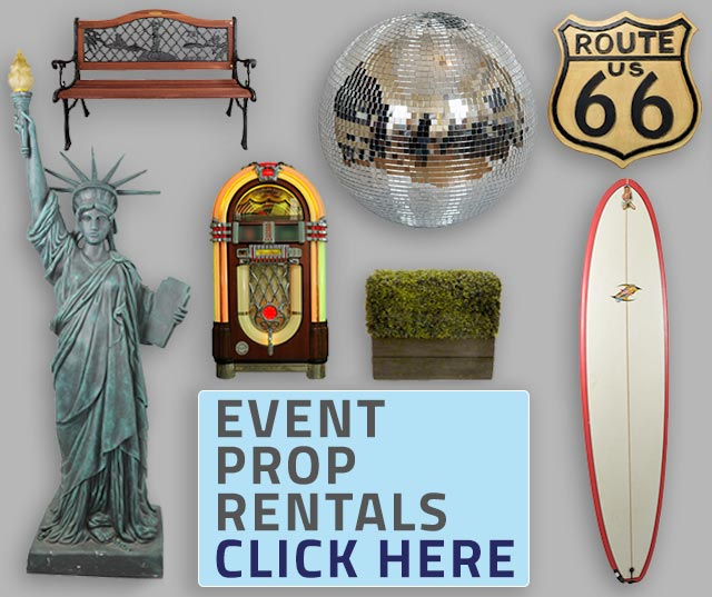 Prop Rentals for NYC Events from MMEink