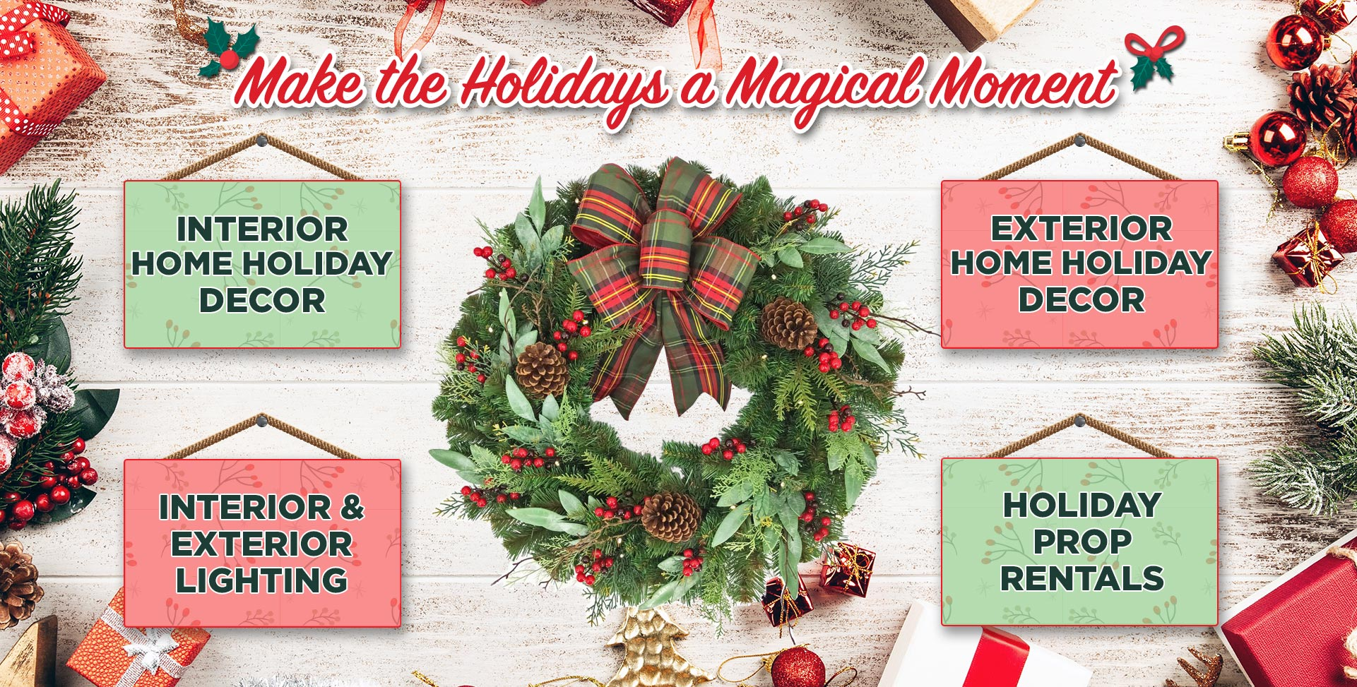 Holiday Decor Services