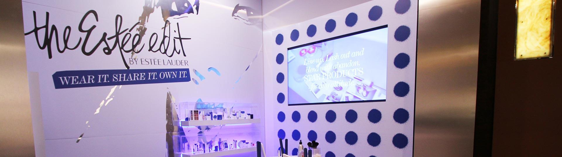 Estee Lauder Trade Show Booth