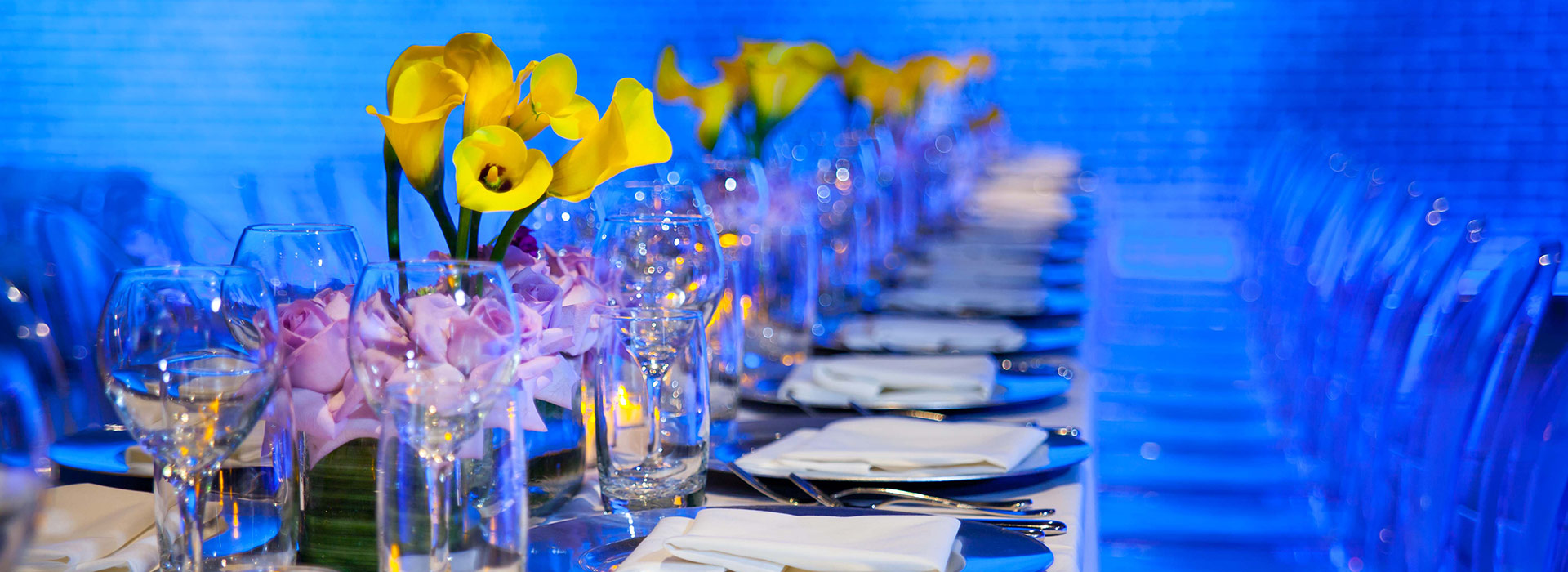Floral Design and event catering for private NYC events