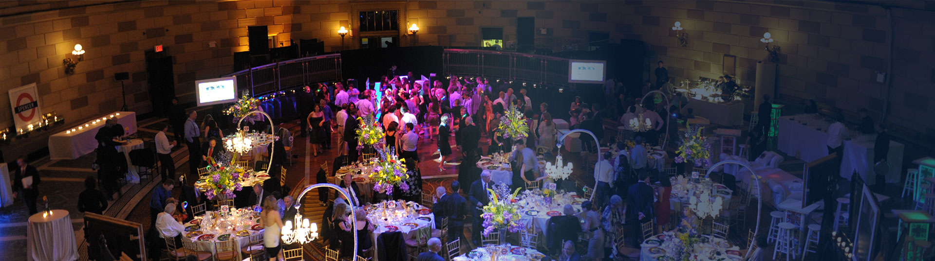 Custom event design and atmospheric environment design for private events in New York City